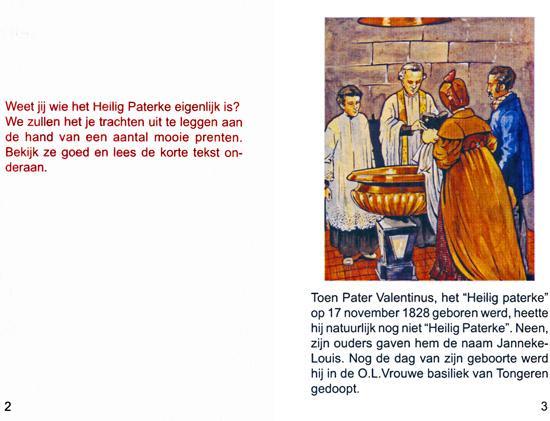 Het leven van het Heilig Paterke